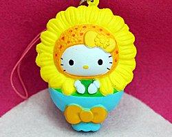 Hello Kitty Stress Toy - Sun Flower (2