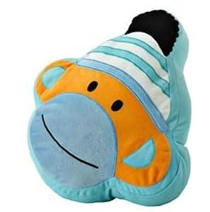 Jumping Beans Sock Monkey Decorative Pillow