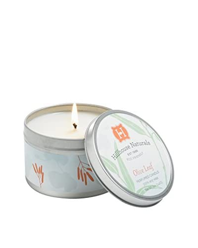 Hillhouse Naturals 5-Oz. Olive Leaf Candle Tin
