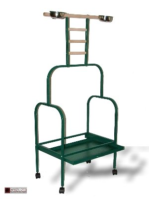Buy Low Price Posh Pets Parrot Stand African Grey Macaw Large Playstand Climber Pearch (PPM)