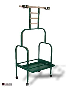 PARROT STAND AFRICAN GREY MACAW LARGE PLAYSTAND CLIMBER PEARCH
