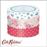 【Cath Kidston】キャス・キッドソン マスキングテープ3巻セット クロニクル・ブックスC CN-MKT1-C