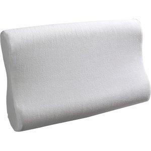 Simmons Beautyrest Contour Memory Foam Bed Pillow front-1015742