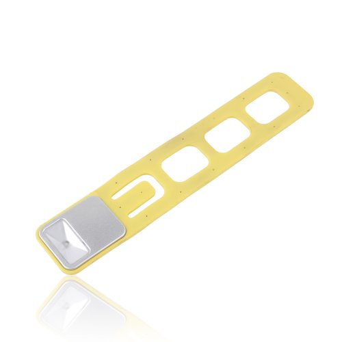 Ebest - Book Marks With Adjustable Led Reading Lights, Yellow