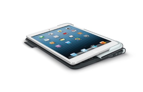 LOGICOOL ウルトラスリム キーボード フォリオ for iPad mini ブラック TM725BK
