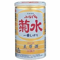 送料無料 菊水酒造 ふなぐち 一番しぼり 本醸造 生原酒 200ml×30本