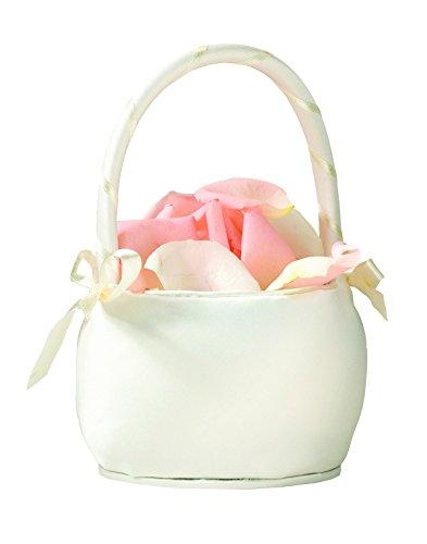 Flower Girl Basket Kit : Flower girl basket color ivory religious ceremonial
