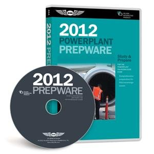 ASA 2012 AMT Powerplant Prepware Software on CD