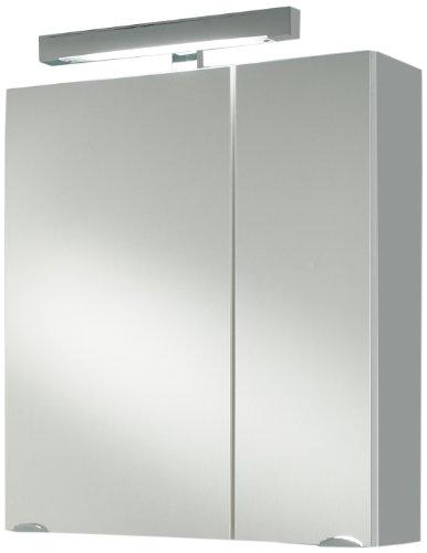 Posseik armadietto da bagno con specchio bianco wei - Armadietto bagno con specchio ...