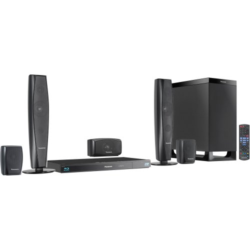 affordable panasonic sc btt370 5 1 channel 3d blu ray cinema surround home entertainment system. Black Bedroom Furniture Sets. Home Design Ideas