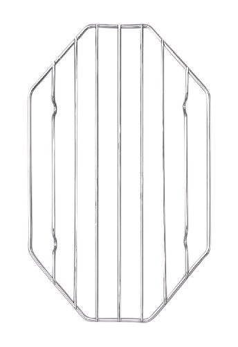 HIC Wire Roasting Baking Broiling Rack, 10-Inches x 6-Inches (Oven Rack Small compare prices)