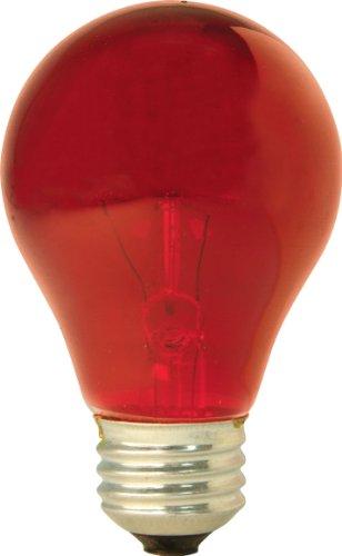 Ge Lighting 16555 25-Watt Light Bulb, Red front-973902