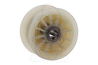 Spannrolle Riemenrolle Wäschetrockner passend wie Whirlpool 484000000792