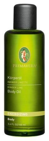 プリマヴェーラ Energizing Ginger Lime Body Oilエナジャイジング ジンジャーライムボディーオイル100mL 3.4fl.oz