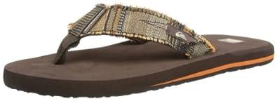 Quiksilver Mens Abyss M Thong Sandals EQYL100003 Brown/XCCR 42 EU/ 8 UK