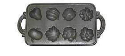 John Wright 73-304 Harvest Muffin Pan (Antique Muffin Pan compare prices)