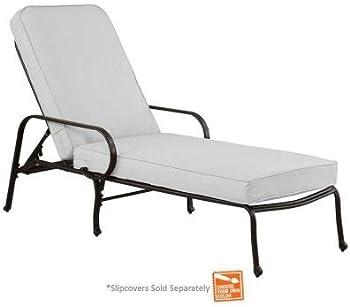 Hampton Bay DY11034-C-B Patio Chaise Lounge