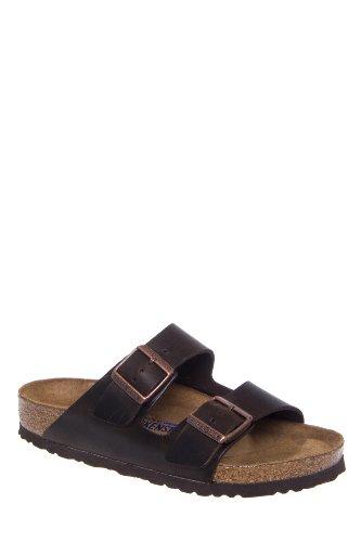 Birkenstock Unisex Arizona Soft Footbed Comfort Flat Slide Sandal