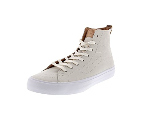 VANS Sneaker - SK8-HI DECON CA - Premium Leather Winter White, Dimensione:41