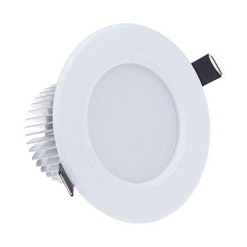 Lemonbest Dimmable Led Ceiling Light 7W Recessed Led Downlight For Ceiling Indoor Warm White