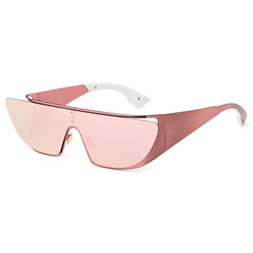 Joopin Women Polarized Sunglasses Brand Designer Classic Shades Flat Panel Lens Sun Glasses(Pink) (Womens Sun Shades compare prices)