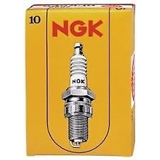NGK B8ES Solid Terminal Type Spark Plug Pack of 10 #3683 smilemango drill right angle bend universal chuck 90 degree angle drill extension accessories fitting professional drill bit