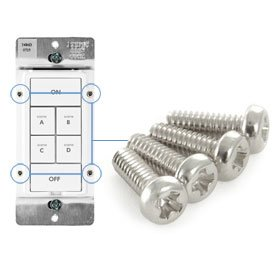 Replacement INSTEON KeypadLinc Frame Screws, 4-Pack