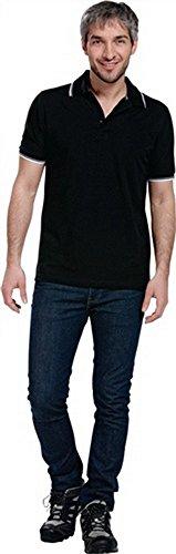 polo-camiseta-talla-xxl-negro-blanco-gris-100-algodon