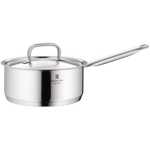 WMF Gourmet Plus 18 cm Stainless Steel Saucepan with Lid, 1.9 Litres