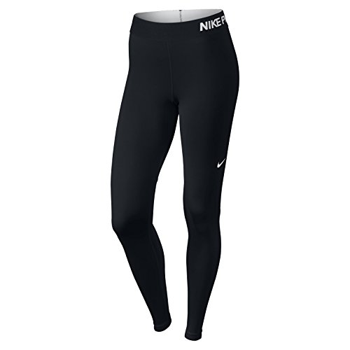 Nike Womens Pro Cool Training Tights Black/White 725477-010 Size X-Small (Nike Clothes compare prices)
