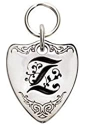 Rockinft Doggie 844587000646 Large Sterling Silver Crest Dog Tag - Letter Z