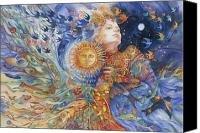 Lithuanian goddess Saule