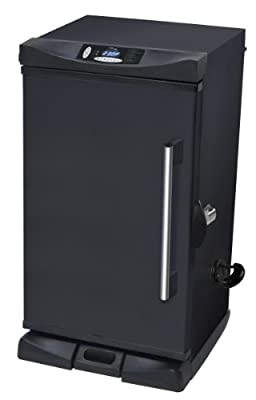 Masterbuilt 20070213 30-Inch Black Electric Digital Smoker, Front Controller