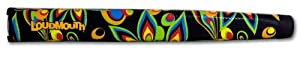Loudmouth Shagadelic Oversized Putter Grip with Matching Ball Marker from JBD Golf USA Inc