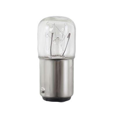 T1635B15E - 24 Volt, 5 Watt, T5 Miniature Bulb, Ba15D Double Contact Bayonet Base