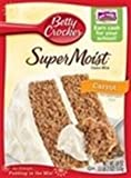 Betty Crocker Super Moist Carrot cake mix 18 OZ (510g)