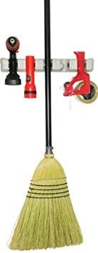 Broom and Mop Holder With Guarantee and FREE Bonus - Tool Rack - Garden Tool Storage - Sports Equipment Storage - Wall Rack - Storage & Orga​nization - Plastic Hanger for Closet - Organize Your Laundry,Kitche​n - Organization and Storage for the Home - Garage Organizer - Shed Organizer - Wall Mounted - Basement Storage - General Storage