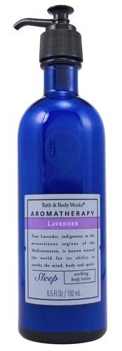 Bath & Body Works Original Aromatherapy Lavender Sleep Soothing Body Lotion 6.5 Fl Oz (192 Ml)