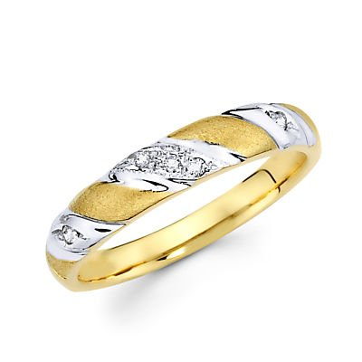 05ct-Diamond-14k-Yellow-and-White-Gold-Wedding-Ring-Band-G-H-Color-I1-Clarity