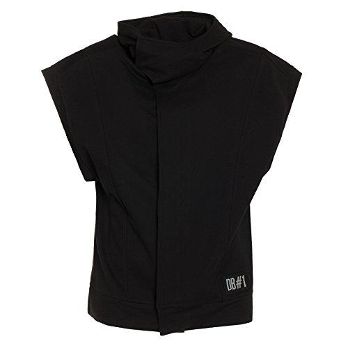 dirk-bikkembergs-mens-fleece-t-shirt-black-black-999-xl