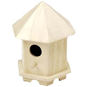 Wooden hexagon birdhouse plans pdf plans for Song bird house plans