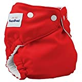 FuzziBunz Onesize Red Cloth Diaper [Baby Product]