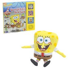 SpongeBob's Yard Sale Book and Plush Set - 1