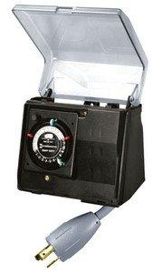 Intermatic P1131 Heavy Duty Above Ground Pool Pump Timer With Twist Lock Plug
