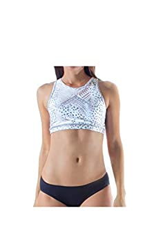 WITH Women's Racer Back Bra Tribal Cheetah