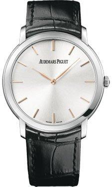 Audemars Piguet Jules Audemars Extra Thin Silver Dial Automatic Mens Watch 15180BCOOA002CR01