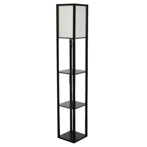 Patriot lighting daniel collection 625quot floor lamp with for Floor lamp with shelves amazon