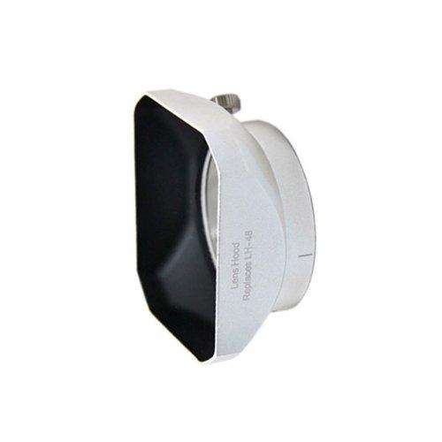 Delamax Sonnenblende für Olympus M.ZUIKO DIGITAL ED 12mm 1:2.0 - ersetzt Olympus LH-48 - Steulichtblende Gegenlichtblende