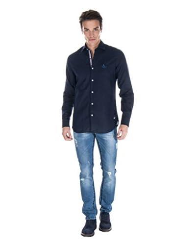 Giorgio Di Mare Camisa Hombre 9966 Azul Marino