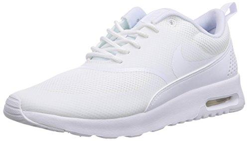 Nike Air Max Thea Damen Sneakers, Weiß (White / White), 39 EU thumbnail